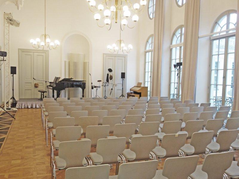 Mit BELLAN Catering im Konzertsaal des Coselpalais