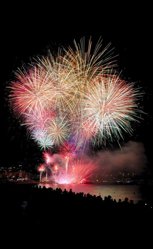 Feuerwerk BELLAN Catering Dresden