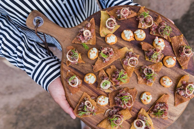Fingerfood auf Firmenevents von BELLAN Catering Dresden