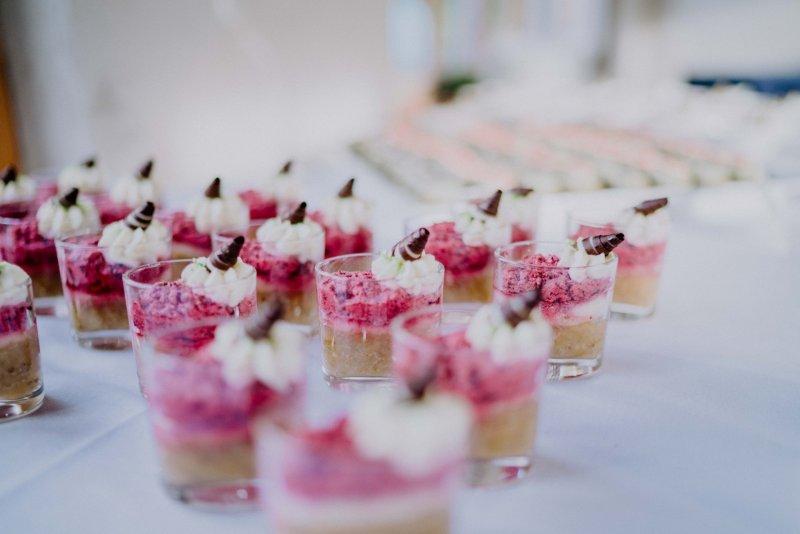 Desserts Hochzeitscatering BELLAN Catering