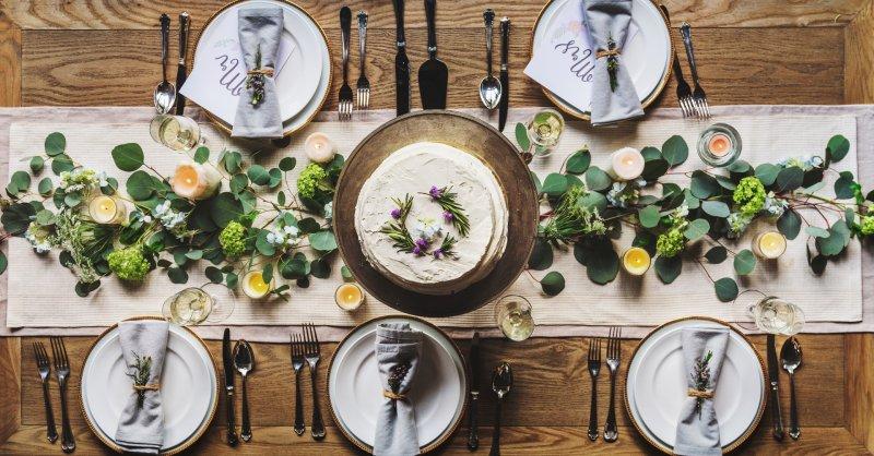 Dekoration Hochzeitstafel by BELLAN Catering Dresden