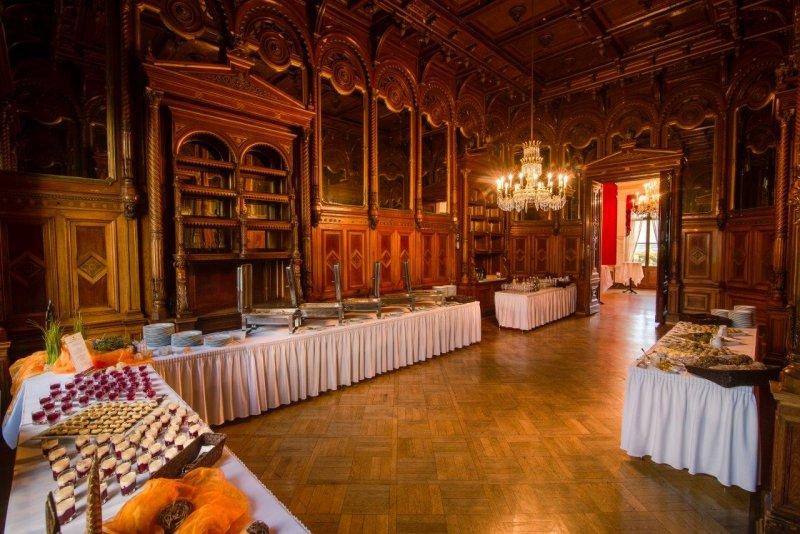 BELLAN Catering Buffet auf Schloss Albrechtsberg
