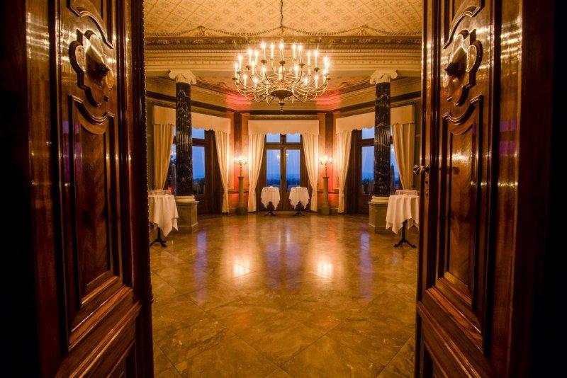 Stehempfang mit BELLAN Catering auf Schloss Albrechtsberg