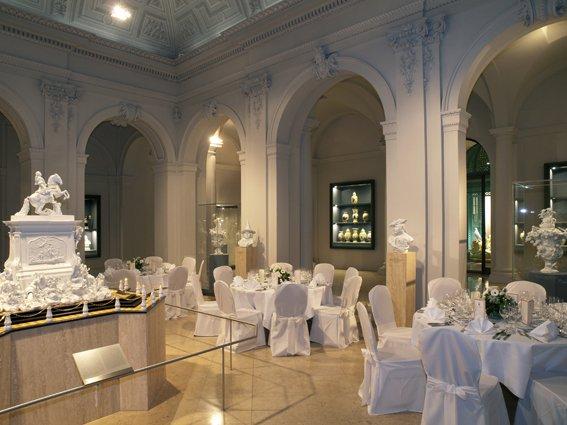 Dinner mit BELLAN Catering Porzellansammlung Dresden