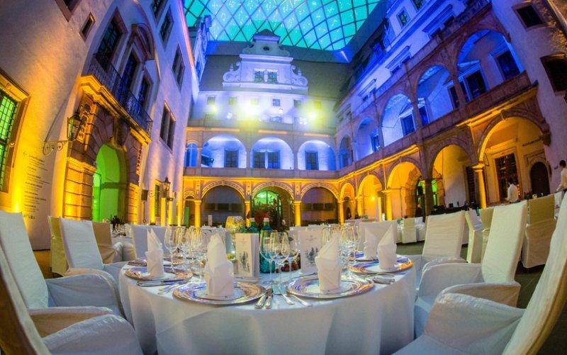 Feiern mit BELLAN Catering im Residenzschloss