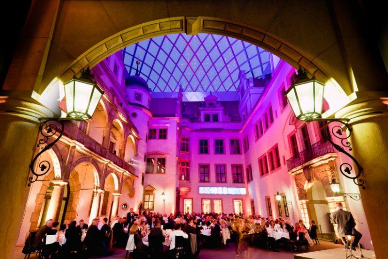 Große Feste mit BELLAN Catering im Residenzschloss Dresden