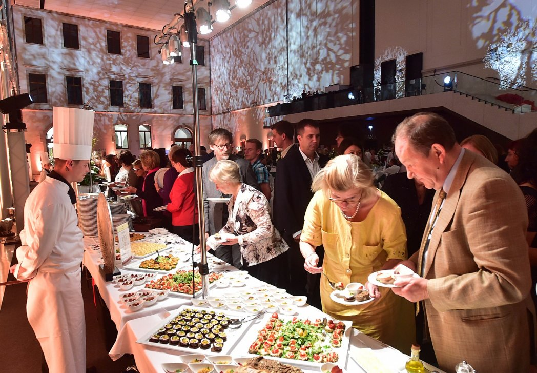 Illumination beim Eventcatering BELLAN Catering Dresden