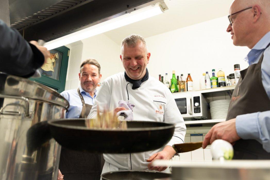 Vom Chefkoch lernen bei BELLAN Catering Dresden