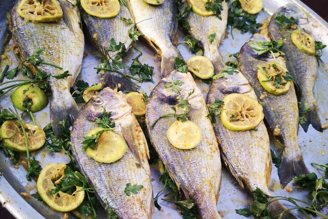 Seafood-Menü